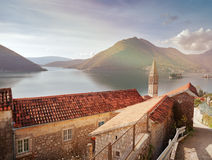 Perast city, Montenegro Royalty Free Stock Photography