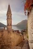 Perast city, Montenegro Stock Image
