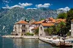 Perast city, Montenegro Stock Photo