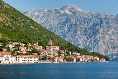 Perast city, Montenegro Stock Photography