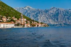 Perast city, Montenegro Royalty Free Stock Image