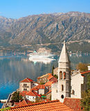 Perast harbor, Montenegro Royalty Free Stock Photo