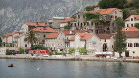 Perast. Historic town of Perast in Montenegro Stock Image
