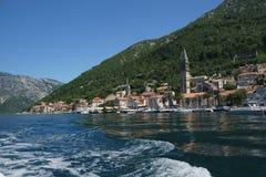 Perast i Montenegro Royaltyfri Fotografi