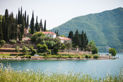 Perast jest starym miasteczkiem na zatoce Kotor Zdjęcia Royalty Free