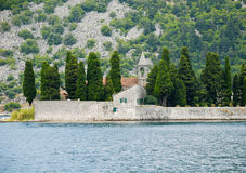 Perast, Kotor bay, Montenegro. Royalty Free Stock Photos