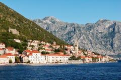 Perast, Kotor bay, Montenegro Royalty Free Stock Photography