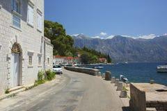 Perast, Kotor Bay, Montenegro Royalty Free Stock Photos