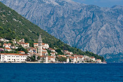 Perast, Montenegro stock foto