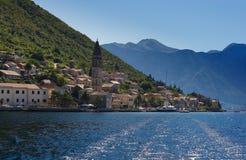 Perast Montenegro Foto de archivo