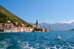 Perast, Montenegro Stock Fotografie