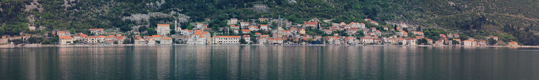 Perast Montenegro Stock Photo