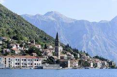 Perast, Montenegro. Seaside view at Perast, Montenegro Stock Images
