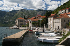 Perast, Montenegro Fotografia de Stock Royalty Free
