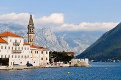 Perast, Montenegro Stockfotos