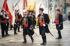 Perast, Montenegro Stockbilder