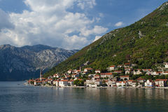 Perast, Montenegro. Perast, a charming village in Montenegro, on the bay of Kotor Royalty Free Stock Photos