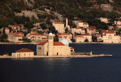 perast montenegro kotorska boka Стоковые Фото