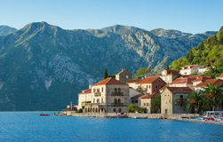 Perast, Montenegro. Perast  is an old town on the Bay of Kotor in Montenegro Royalty Free Stock Photos