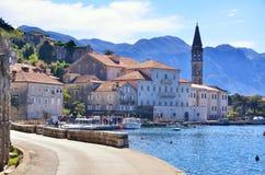Perast, Montenegro, old town Royalty Free Stock Image
