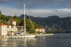 Perast. Montenegro Royalty Free Stock Images