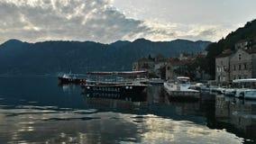 Perast, Montenegro wycieczka obrazy royalty free