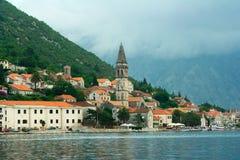 Perast Stadt. Montenegro Lizenzfreie Stockfotografie