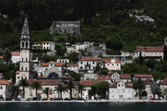 Perast town. Royalty Free Stock Photography