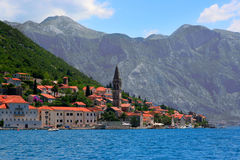 Perast town Royalty Free Stock Photo