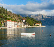 Perast town,Montenegro royalty free stock photography