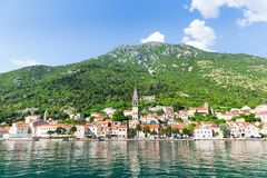 Perast town, Montenegro Royalty Free Stock Images