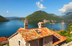Perast town. Montenegro Royalty Free Stock Images