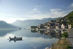 Perast village in montenegro Royalty Free Stock Photos