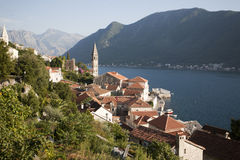 Perast village near Kotor, Montenegro Stock Photo