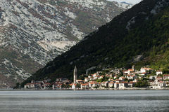 Perast village near Kotor, Montenegro Royalty Free Stock Image