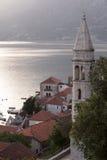 Perast village near Kotor, Montenegro Royalty Free Stock Images