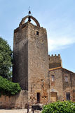 Peratallada tower Stock Image