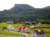 Percé, Quebeque. Imagem de Stock Royalty Free