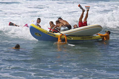 Percalço do esporte de barco Fotografia de Stock