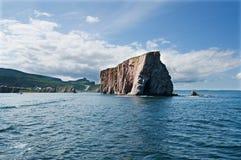 perce βράχος άκρη Στοκ φωτογραφία με δικαίωμα ελεύθερης χρήσης