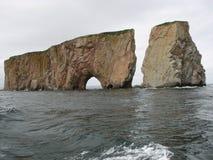 Perce Rock Arkivbild
