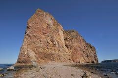 Perce Rock royaltyfri fotografi