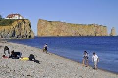 Perce Rock Royaltyfri Foto