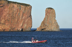 Perce Rock Stock Images