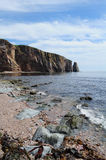 Perce Rock, Gaspesie Royalty Free Stock Images