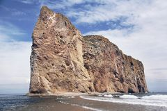 Perce Rock i golfen arkivbild