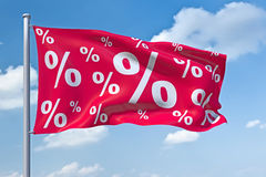 Percent Royalty Free Stock Images