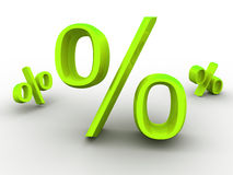 Percent. royalty free illustration