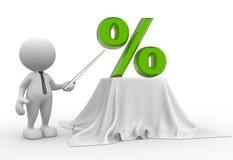 Percent Stock Image