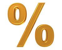 Percent Royalty Free Stock Photography